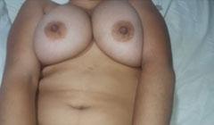 Latina con ricas tetas en su primera follada para el porno